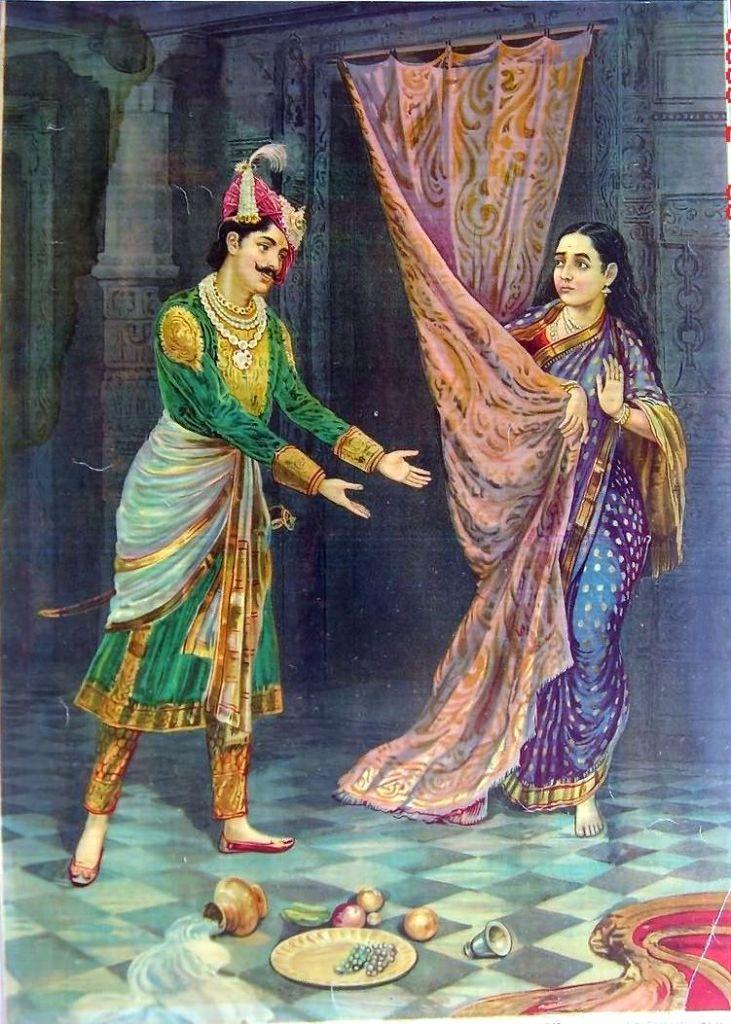 Kichaka and Draupadi
