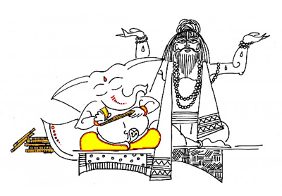 Image courtesy : Devdutt Pattanaik