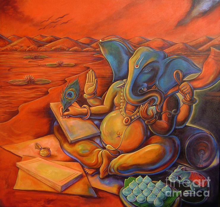 ganesha-writting-mahabharata-sanjay-kulkarni